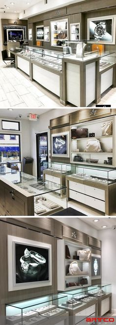 LXY Boutique.  Manufacture & Design of Store Fixtures by Artco Group.  . . .  #retaildesign #storedesign splay #storedesign #watches #luxurywatches #lxy