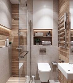 WC & Badezimmer Renovierung - Koupelny - # Renovierung - home design - Small Bathroom Colors, Modern Bathroom Design, Bathroom Interior Design, Toilet And Bathroom Design, Bathroom Designs, Toilet Design, Interior Livingroom, Interior Modern, Interior Paint