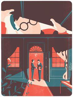 Tom Haugomat - Illustration for Protein Magazine  Tiphaine-illustration