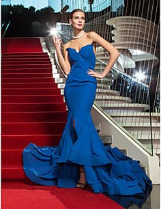 Military Ball/Formal Evening Dress Trumpet/Mermaid Strapless... – EUR € 109.08