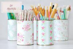 Diy pencil tins are cute