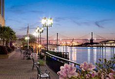 Savannah, Georgia Riverwalk