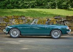 1964 MGB... What a color!
