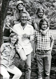 Paul Newman And Joanne Woodward's daughters