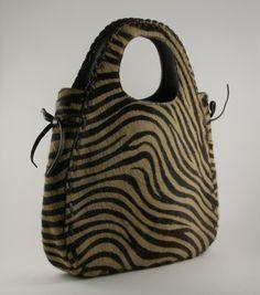 Vintage Holt Renfrew Calfskin & Leather Zebra Print Handbag Circa 1990's, Top Handle Animal Print Evening Purse, Classic Style Gift Idea by ValueVintagedotca on Etsy