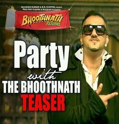 Party With The Bhoothnath - Honey Singh Mp3 Song Download