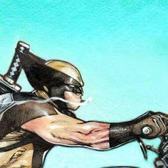Wolverine by Olivier Coipel. Comic Book Artists, Comic Book Characters, Comic Book Heroes, Marvel Characters, Comic Character, Comic Books Art, Comic Art, Marvel Comics Art, Marvel Vs