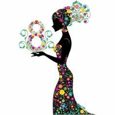 8 Mart Dünya Kadınlar Günümüz Kutlu Olsunnnn!! -- 8 March Happy Women's Day!!! -- #perlesilver #kadinlargunu #8mart #womensday #8march #flowers #çiçek #kadinlarcicektirsoldurmayin Women's Day 8 March, 8th Of March, Happy Woman Day, Happy Day, Happy New Year, Women's Day Cards, Happy Womens Day Quotes, International Womens Day March 8, We Run The World
