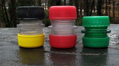 Make a Storage Capsule Out of Two Plastic Soda Bottles