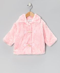 Pink Faux-Fur Jacket - Infant by Clearance: Babywear on #zulilyUK today!