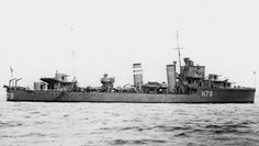 HMS Firedrake(H79), F Class Destroyer. built by Parsons Marine Steam turbine Co. Wallsend(hull sub contracted to Vickers Armstrongs, Walker), commissioned 30/05/35. Part of 8th Destroyer Flotilla based at Scapa Flow. On 14/09/39 partial credit for sinking U-39. Aug. '40 assigned to Gibralter.  Partial credit in sinking of Italian sub Durbo on 18/10/40. Participated in Battle of Spartivento. Winter '41 transferred to Boston as Leader of Escort Group B7. On 17/12/42 torpedoed by U-211 and…