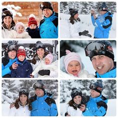 Photos of The Cambridge family were taken by Press Association's royal photographer named John Stillwell in Alps,France March 2016