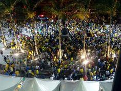 Meu olhar , sem filtro sobre  inauguração do Maracanã - RJ FOTO Sandra Dias