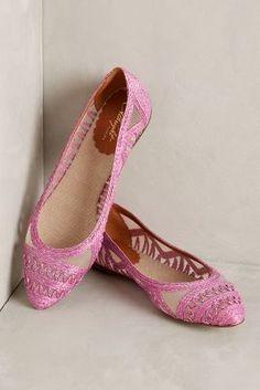 Miss Albright Tortola Skimmers Rain Shoes #anthroregistry
