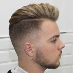 2016 Men's Hairstyles - Disconnected High Fade + Long Hair Blown Dry