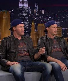 Will Ferrell & Chad Smith just blew our minds