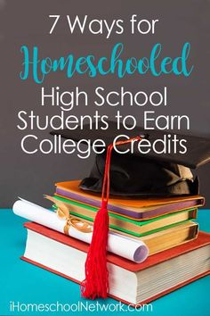 Earning college credits in high school is a great way to save money and graduate sooner. Here are 7 ways to earn college credits in high school. 7 Ways for Homeschooled High School Students to Earn College Credits In High School, High School Students, Public School, Middle School, Summer School, College Students, Homeschool High School, How To Start Homeschooling, Catholic Homeschooling