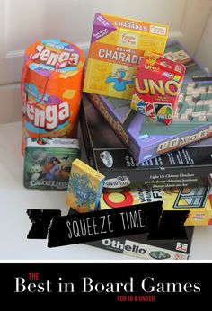 Squeeze in Time for Play | Best in Board Games