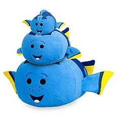 Dory ''Tsum Tsum'' Plush Collection | Disney Store Stackably soft, now you can find our unforgettable Dory ''Tsum Tsum'' Plush in a variety of sizes to fit your own undersea kingdom!