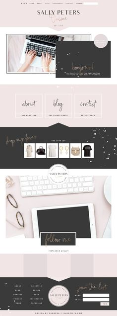 250 best blog design inspiration images blog design inspiration rh pinterest com