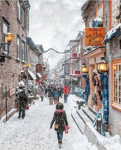 "12.3k Likes, 92 Comments - Living Destinations (@living_destinations) on Instagram: ""Winter wonderland ~ Quebec, Canada Photo: @manucoveney Congrats! TAG your LOVER 💏…"""
