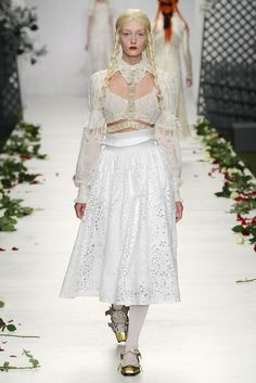 Meadham Kirchoff RTW Spring 2014 [Photo by Giovanni Giannoni]
