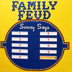 Family Feud - powerpoint template download; Best one I could find ...