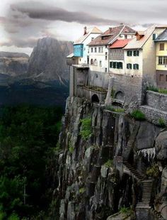 The Crazy Cliff-Side Dwellings of Ronda, Spain..!!♥♡