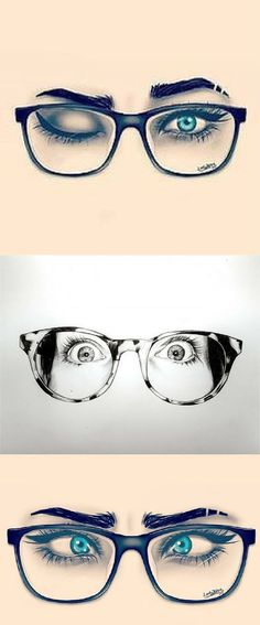 Brillen zeichnen