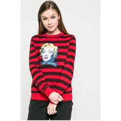 Andy Warhol by Pepe Jeans - Bluza Isobel Andy Warhol, Pepe Jeans, Model, T Shirt, Tops, Fashion, Tricot, Supreme T Shirt, Moda