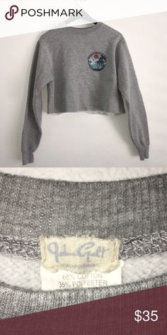 Brandy Melville Sweatshirt This sweatshirt has been worn once but there is no signs of wear. great condition , like brand new Brandy Melville Sweaters Crew & Scoop Necks