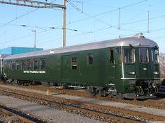 Mittel-Thurgau-Bahn (MThB), BDt 205 Swiss Railways, Switzerland, Trains, Locomotive, Middle, Train