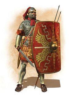Легионер, Изобретения древнего Рима