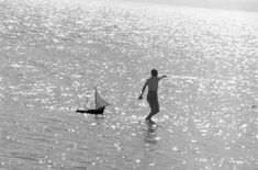 Paros island, Photo by Zacharias Stellas Benaki Museum Photographic Archives Retro Photography, History Of Photography, Greek Town, Benaki Museum, Greece History, Greek Sea, Paros Greece, Paros Island, Paradise On Earth