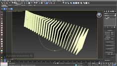 Sectioning 01: simple arrays in 3ds max