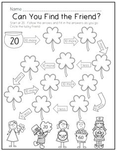 Printables First Day First Grade Worksheets st patricks day printable pack patrick obrian common cores printables core aligned perfect for first grade skills
