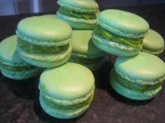 Macarons Pistache, Recette de Macarons Pistache par Ofelaye c. - Food Reporter