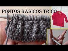 Ponto que Desmancha no Trico - 1º Parte - Aprendendo Tricô Manual - YouTube
