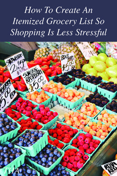 Does grocery shopping stress you out? Have you ever thought about creating an itemized grocery list so you can shop with ease? Check out today's post for a step-by-step tutorial on how to create a grocery list that makes shopping easier. #Budgeting #Shopping #GroceryShopping #LifeTips #Adulting Easy Recipes For Beginners, New Recipes, Snack Recipes, Favorite Recipes, Grocery Lists, Go Shopping, Adulting, Simple Way, Food To Make