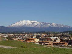 Cardedeu i el Montseny nevat