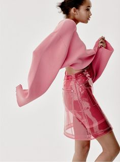 "artfulfashion: ""Wallette Watson in Vogue UK, May 2017, photographed by Luca Khouri """
