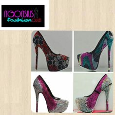 CRYSTAL SHOES AVAILABLE IN DIFFERENT COLORS AND SIZE .. IF YOU HAVE ANY QUESTION OR WISH TO PLACE AN ORDER PLEASE CONTACT US ON  EMAIL:ngonsiusfashionoutlet@gmail.com SKYPE:ngonsius.jobius INSTAGRAM: ngonsiusfashionoutlet