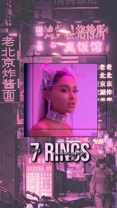 7 Rings wallpaper by Charlylavingne - - Free on ZEDGE™ Ariana Grande Background, Ariana Grande Wallpaper, Ariana Grande Photoshoot, Ariana Grande Pictures, Ariana Grande Facts, Applis Photo, Dangerous Woman, Thank U, Cultura Pop