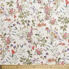 Ladybird Voile Ivory 138 cm