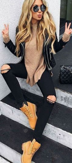 50 Fashionable Winter Outfit Ideas 9