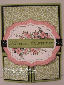 Inking It Up With Cathy: Stampin' Up!'s Apothecary Art Stamp Set