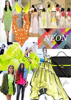 Trend board- Neon