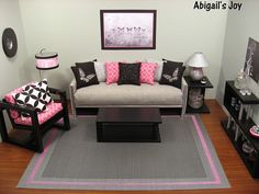 """Butterflies""  1:6 Contemporary Living Room by Abigail's Joy, via Flickr"