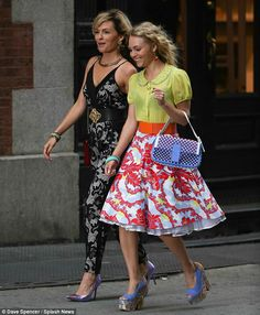 Who's your stylist: The newcomer was stylishly outfitted in a black lace over white jumpsuit and purple heels Read more: http://www.dailymail.co.uk/tvshowbiz/article-2378515/The-Carrie-Diaries-Lindsey-Gort-bares-toned-midriff-gets-spot-bother-playing-Samantha-Jones.html#ixzz2huKfw13Y Follow us: @MailOnline on Twitter | DailyMail on Facebook