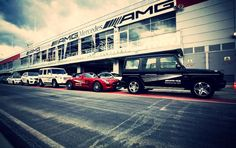 For the first time, the AMG Performance Tour took place in Russia at the brand new Moscow Raceway.